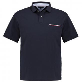 Poloshirt mit Brusttasche, kurzarm marine_DW5 | 3XL
