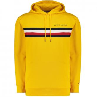 Hoodie mit Logo-Aufsatz gelb_ZFX | 3XL