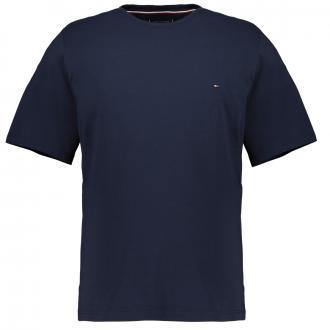 T-Shirt mit Logostickerei marine_416 | 3XL
