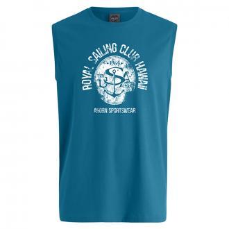 "Bequemes T-Shirt mit ""Royal Sailing"" Print blau_27 | 6XL"