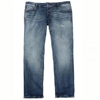 Modische Stretch-Jeans im Usedlook jeansblau_BLUEDENIM | 42/32