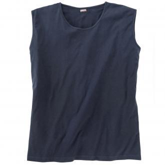 Muskelshirt aus Baumwolle dunkelblau_360 | 3XL