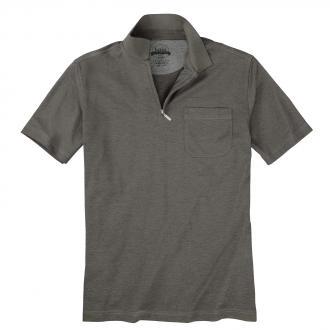 d9653819d890bf Poloshirt mit Reißverschluss in