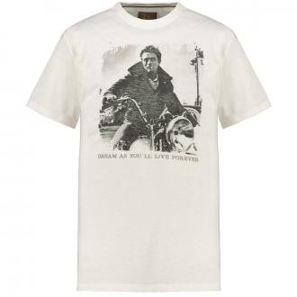"T-Shirt mit auffälligem ""James Dean""-Print natur_24 | 4XL"