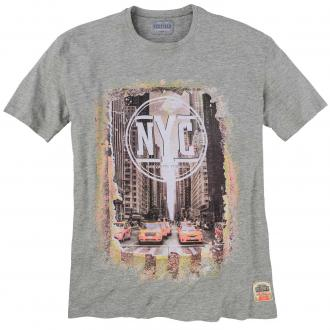 "T-Shirt mit ""New-York-City""-Print, kurzarm grau_89 
