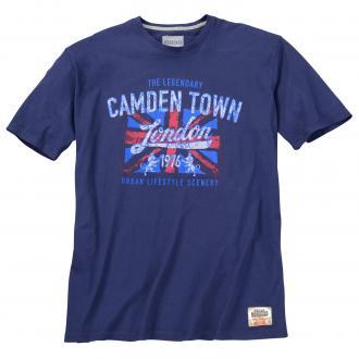 "T-Shirt mit ""Camden-Town""-Print, kurzarm dunkelblau_1890 | 3XL"
