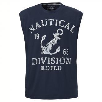 "Tanktop mit auffälligem ""Nautical Division""- Print marine_547 | 5XL"