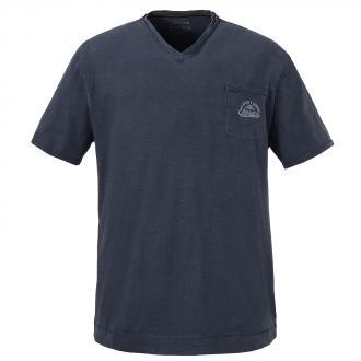T-Shirt mit zwei-in eins Optik jeansblau_189 | 3XL