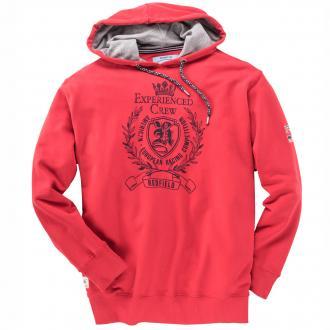 Sweatshirt mit Kapuze rot_840 | 3XL