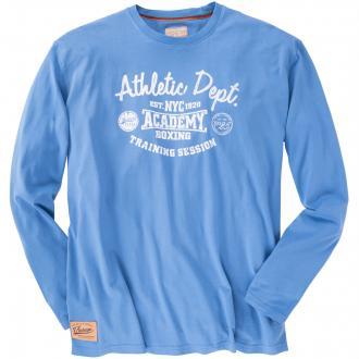 "T-Shirt langarm ""Athletic Dept."" blau_192 | 3XL"