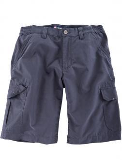 Cargo-Shorts mit Stretchbund graublau_0880   40