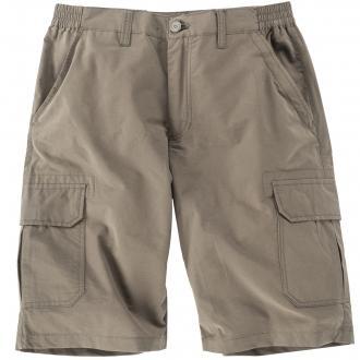 Cargo-Shorts mit Stretchbund khaki_2900   36
