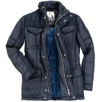 Stilvolle Winterjacke mit moderner Steppung dunkelblau_0800 | 33