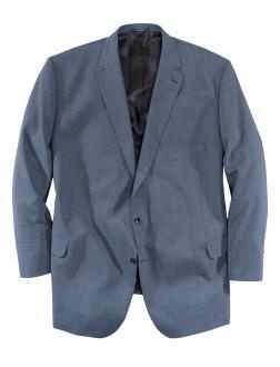 Sakko aus Schurwolle in Bauchgrößen dunkelblau_303 | 38