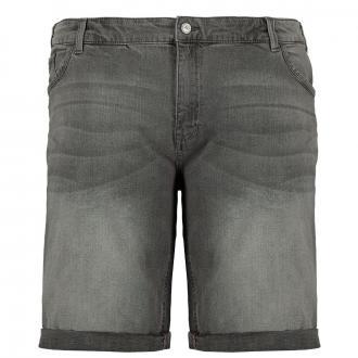 Lässige Jeans Short mit Stretch hellgrau_4235 | W44