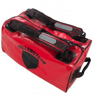 Freizeittasche mit Reflektoren rot_RD   One Size