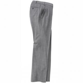 Elegante Hose mit Stretch-Anteil hellgrau_150 | 30