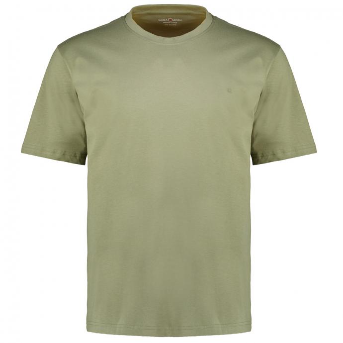 T-Shirt mit Rundhalsausschnitt grün_336   3XL
