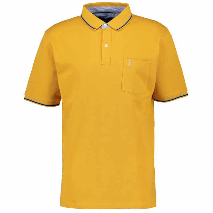 Sportives Poloshirt mit dezenter Stickerei mais_751 | 4XL