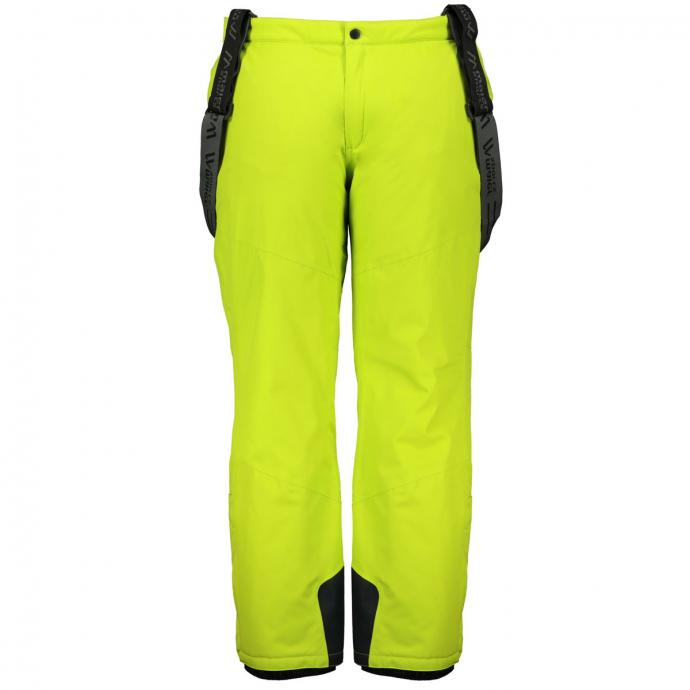 Ski-Funktionshose mit Trägern grün_242 | 32