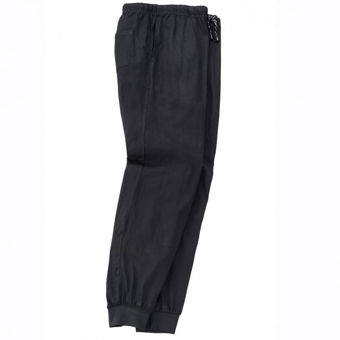 Legere Schlafanzughose mit praktischen Taschen, lang schwarz_700 | 3XL