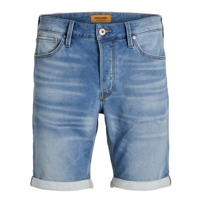 Jeansbermuda mit Stretchanteil jeansblau_BLUEDENIM | W46