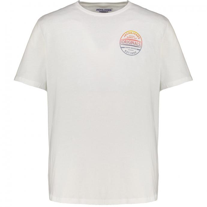 "Basic Shirt mit ""Jack&Jones Originals""-Print beige_CLOUD | 3XL"