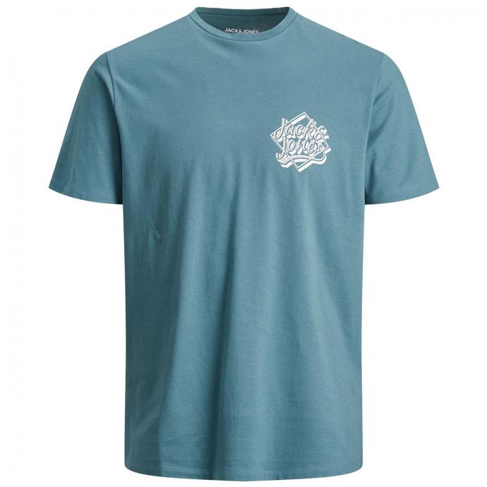 T-Shirt mit Print petrol_MALLARD   5XL