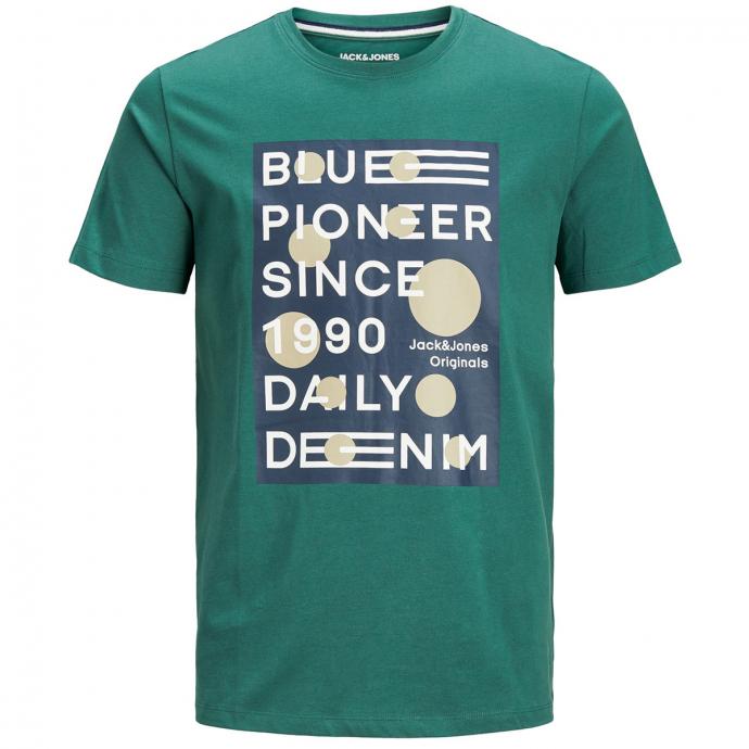 T-Shirt kurzarm grün_TREKKINGGREEN | 3XL