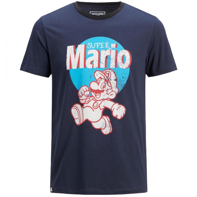"T-Shirt ""Super Mario"" marine_NAVY | 3XL"