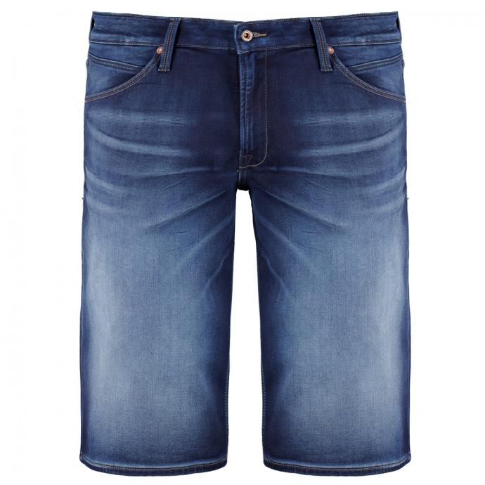 Jeansshort aus Stretch-Denim im 5-Pocket Stil blau_BLUE | W54