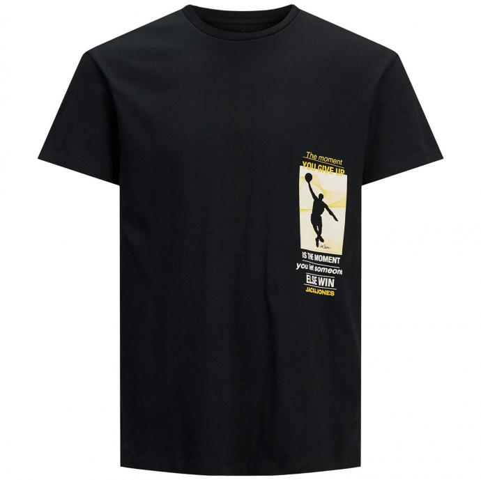 "T-Shirt mit Print ""Black Mamba"" - limited edition original art tribute schwarz_BLACK   3XL"
