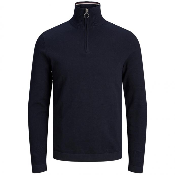 Leicht strukturiertes Sweatshirt aus Baumwolle marine_SKYCAPTAIN   3XL