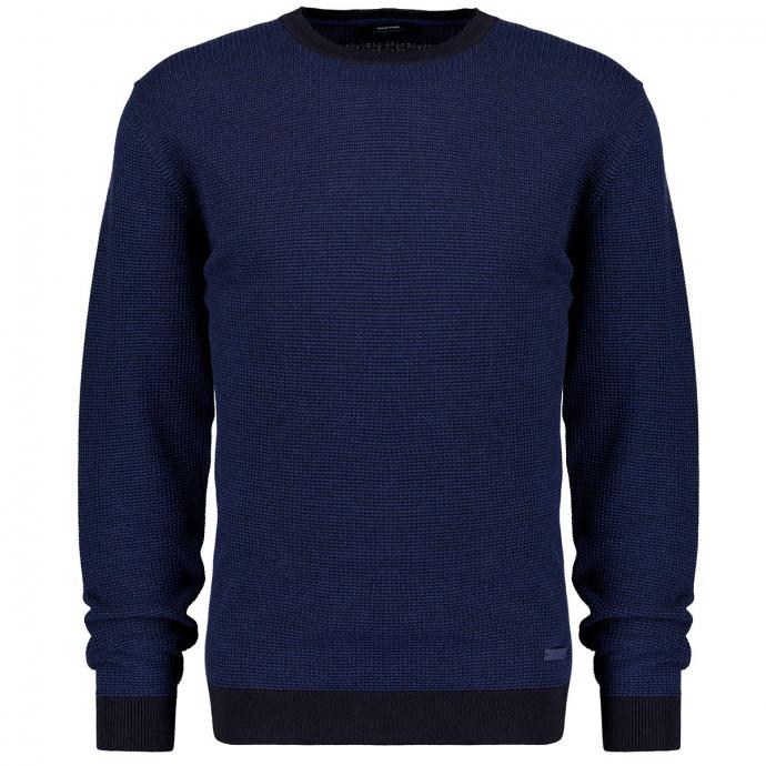 Pullover Rund dunkelblau_3000 | 3XL