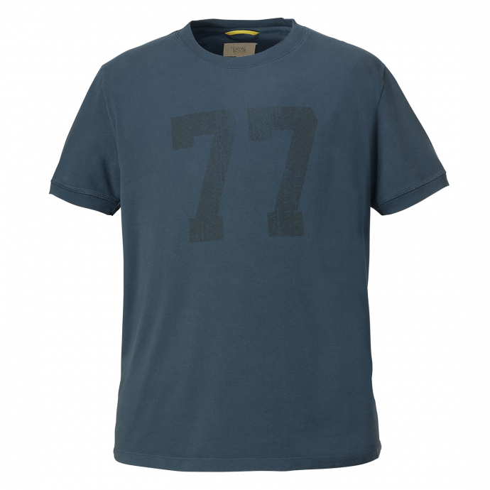 Modisches T-Shirt blau_12 | 6XL