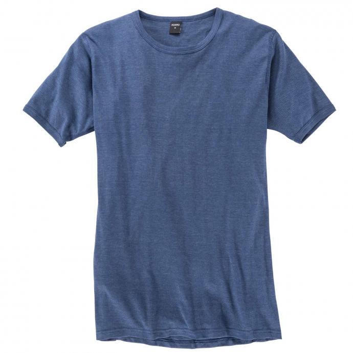 Kurzarm Unterhemd mit Thermofunktion dunkelblau_360 | 8