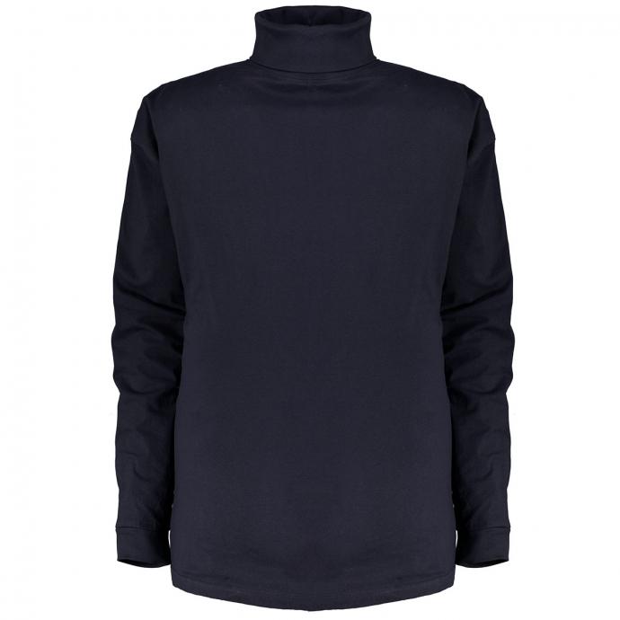 Leichtes Rollkragen-Shirt dunkelblau_360 | 6XL