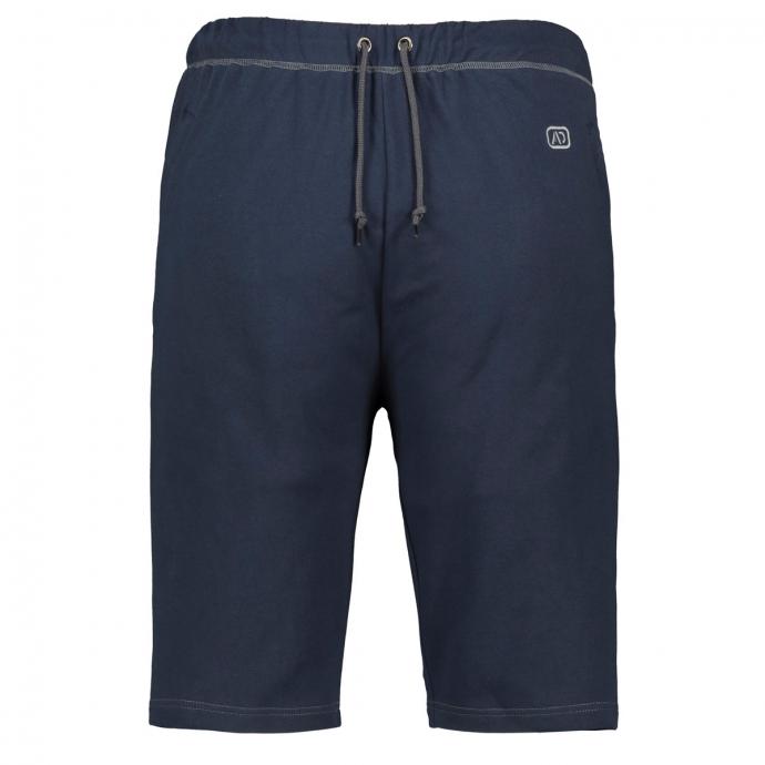 Kurze Jogging-Hose mit Reißverschlusstaschen dunkelblau_360 | 3XL