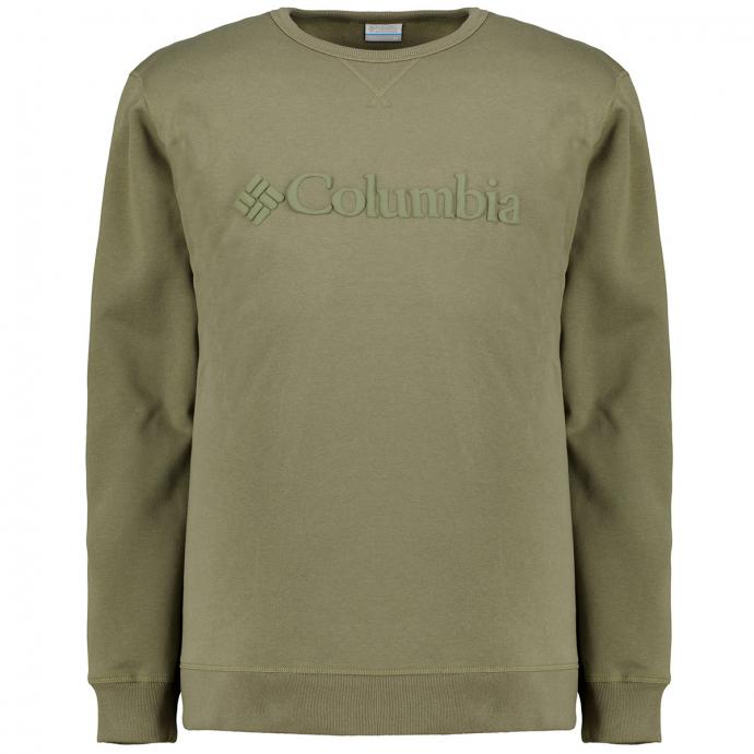 Hochwertiges Logo-Sweatshirt mit leichtem Fleecefutter oliv_397 | 3XL