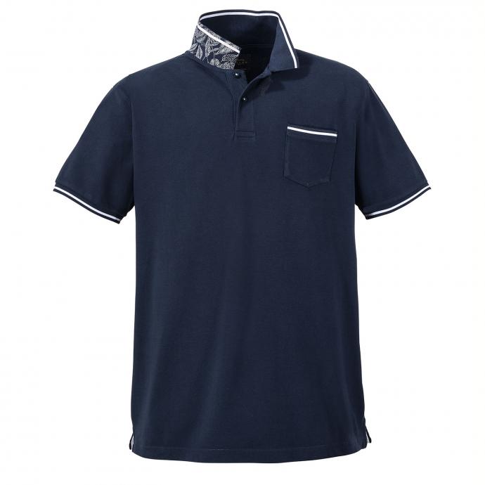 Klassisches Poloshirt mit sportlichem Charakter, kurzarm dunkelblau_210 | 6XL