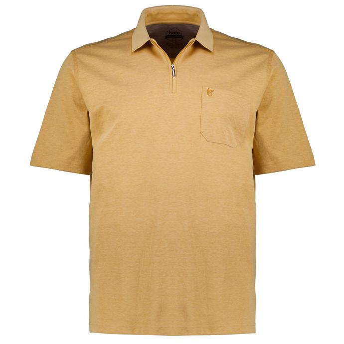 "Poloshirt ""Stay Fresh"" mit Zip, kurzarm mais_332 | 58"