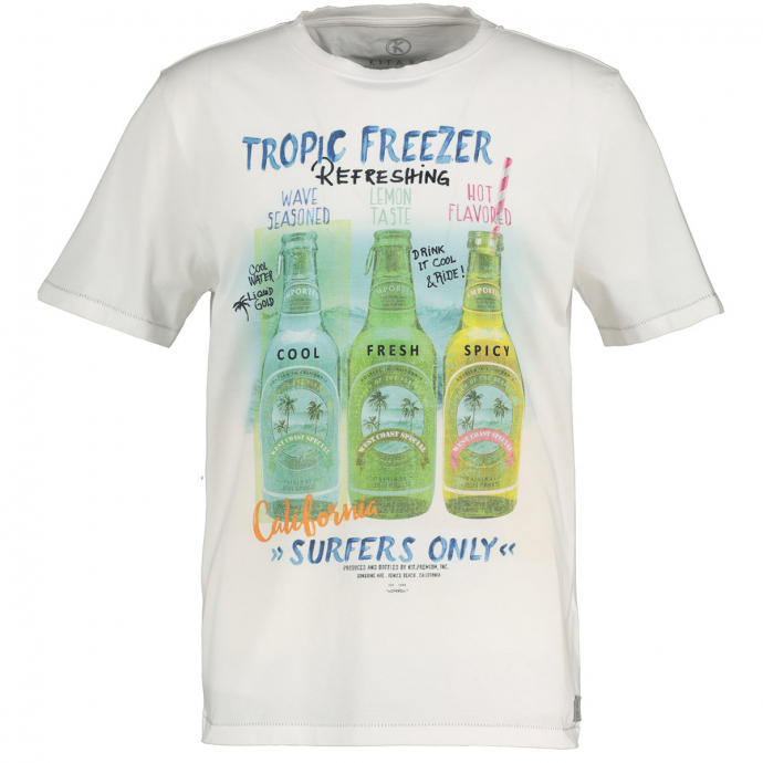 Cooles T-Shirt mit Flaschen-Print weiß_600 | 5XL