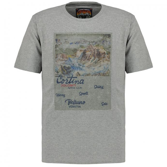 "T-Shirt ""Cortina"" hellgrau_5130 | 3XL"