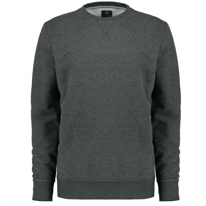 Klassisches Sweatshirt grau_5101 | 6XL