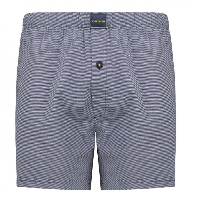 Boxershorts aus Baumwoll-Jersey, Doppelpack dunkelblau_622/400   8