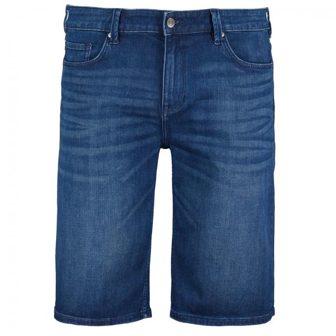 Elastische Jeansshort aus Stretch Denim blau_56Z4   W46