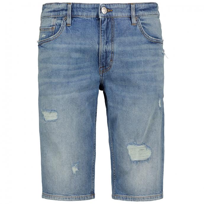 "Jeansshort ""York"" im Destroyed Look jeansblau_54Z5   W46"