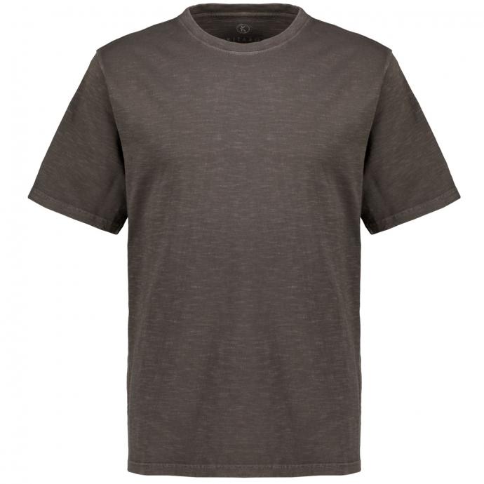 T-Shirt im Used-Look anthrazit_10905   3XL
