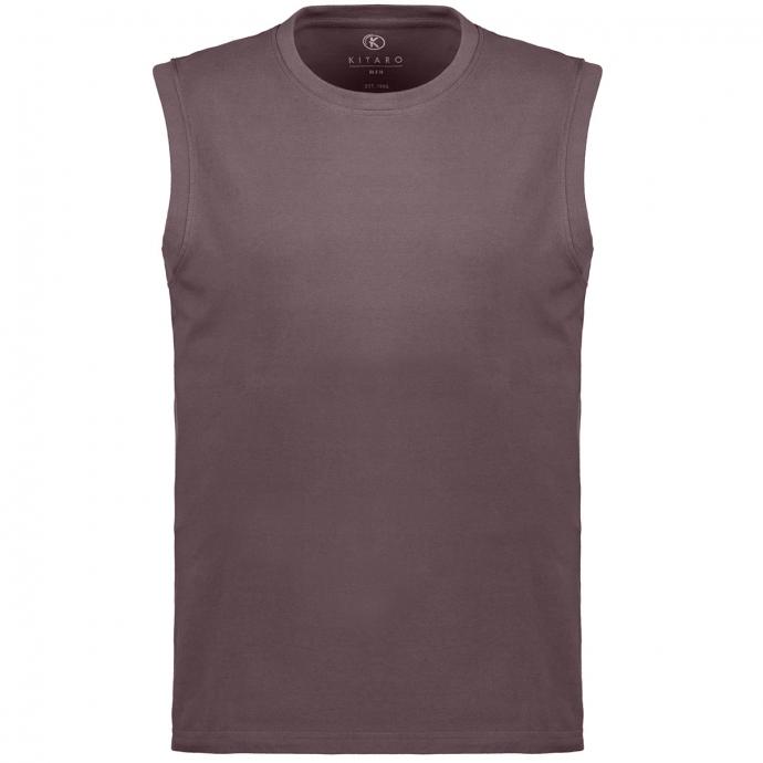 Ärmelloses T-Shirt in Used-Optik anthrazit_10905 | 3XL