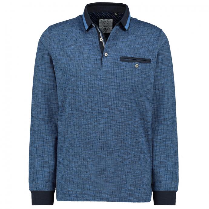 Leichtes Langarmshirt in stayfresh-Qualität dunkelblau_609 | 5XL